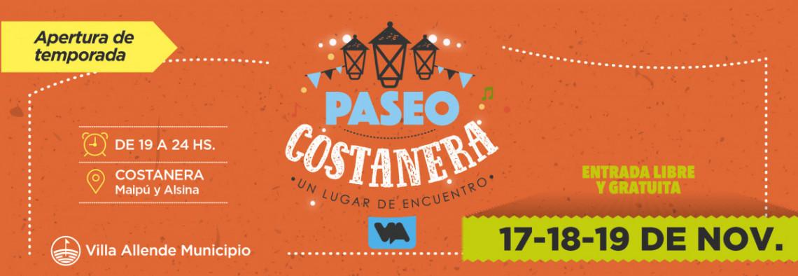 ¡Apertura de temporada de Paseo Costanera!
