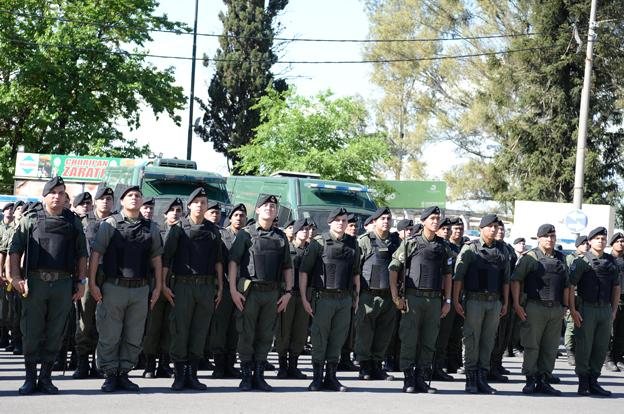 Se suman 300 gendarmes al Comando interfuerzas en Córdoba