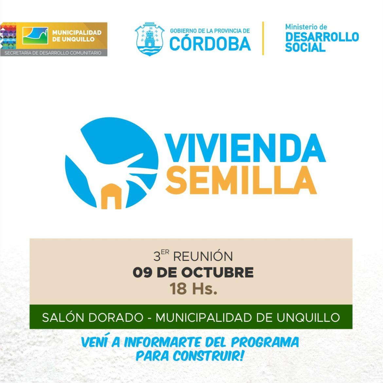 """UNQUILLO: PROGRAMA """"VIVIENDA SEMILLA"""""""