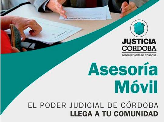 Río Ceballos: Asesoría Móvil de Justicia Córdoba