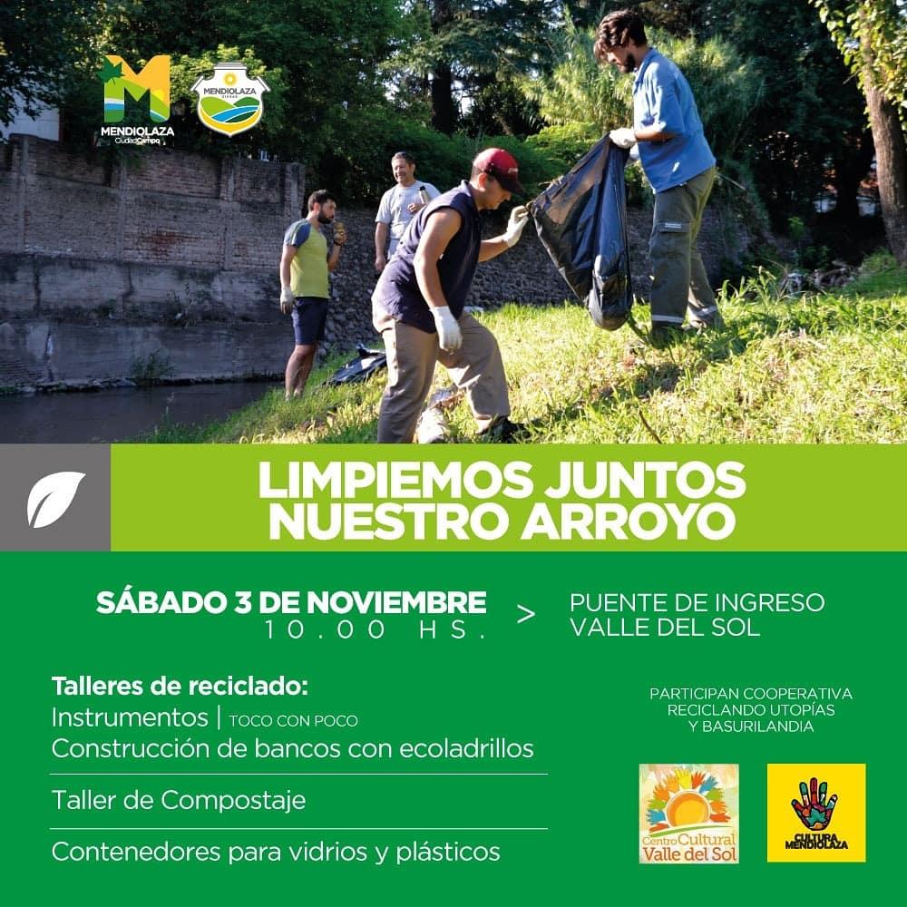 MENDIOALAZA: LIMPIEMOS EL ARROYO