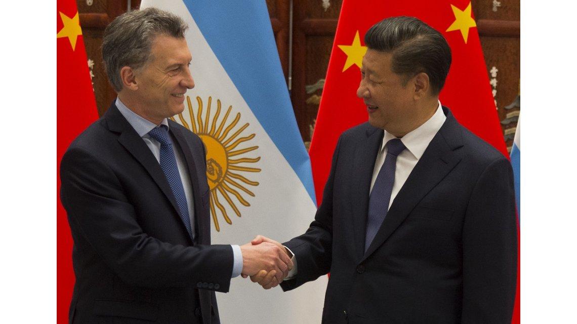 Acuerdos con China por hasta US$3550 millones