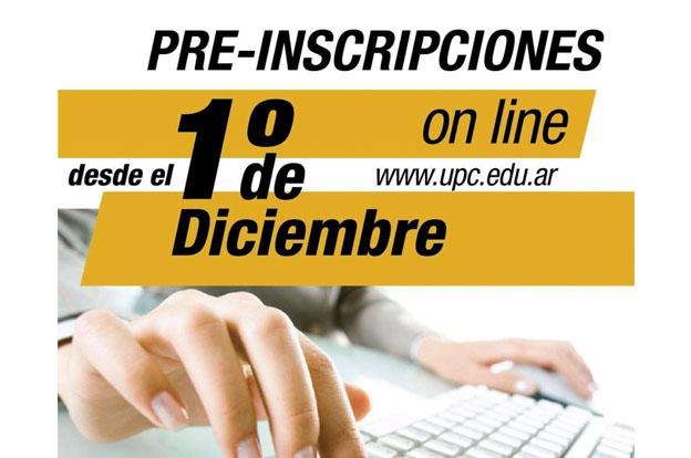 Están abiertas las preinscripciones en la Universidad Provincial