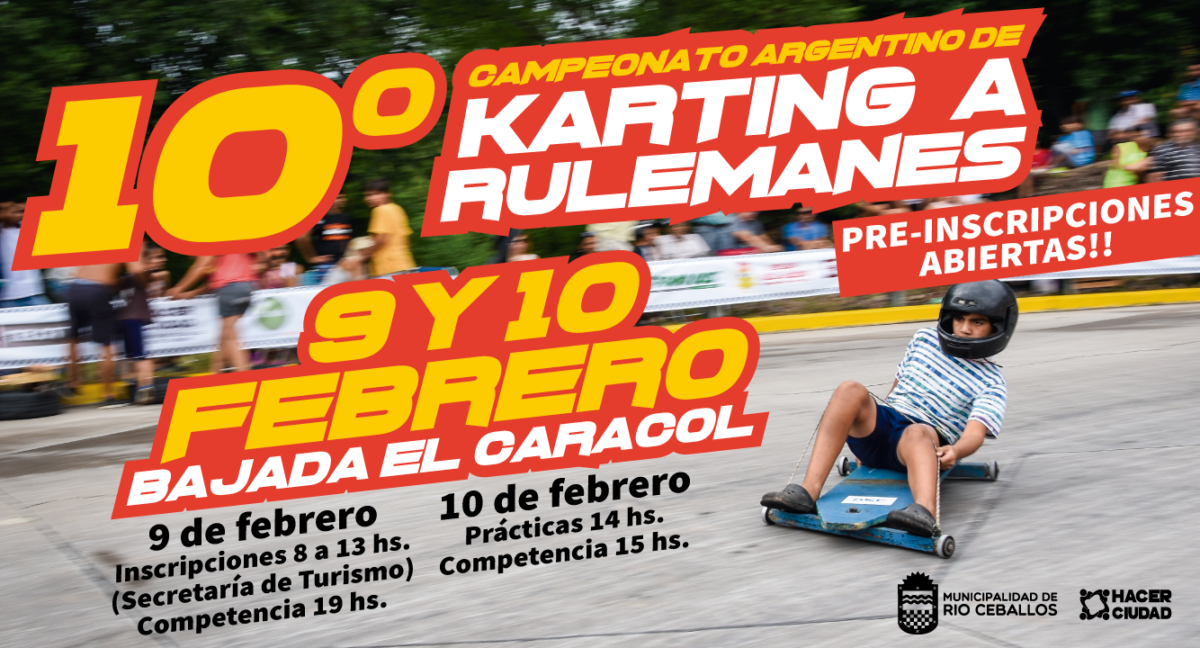 10° Campeonato de Karting a Rulemanes
