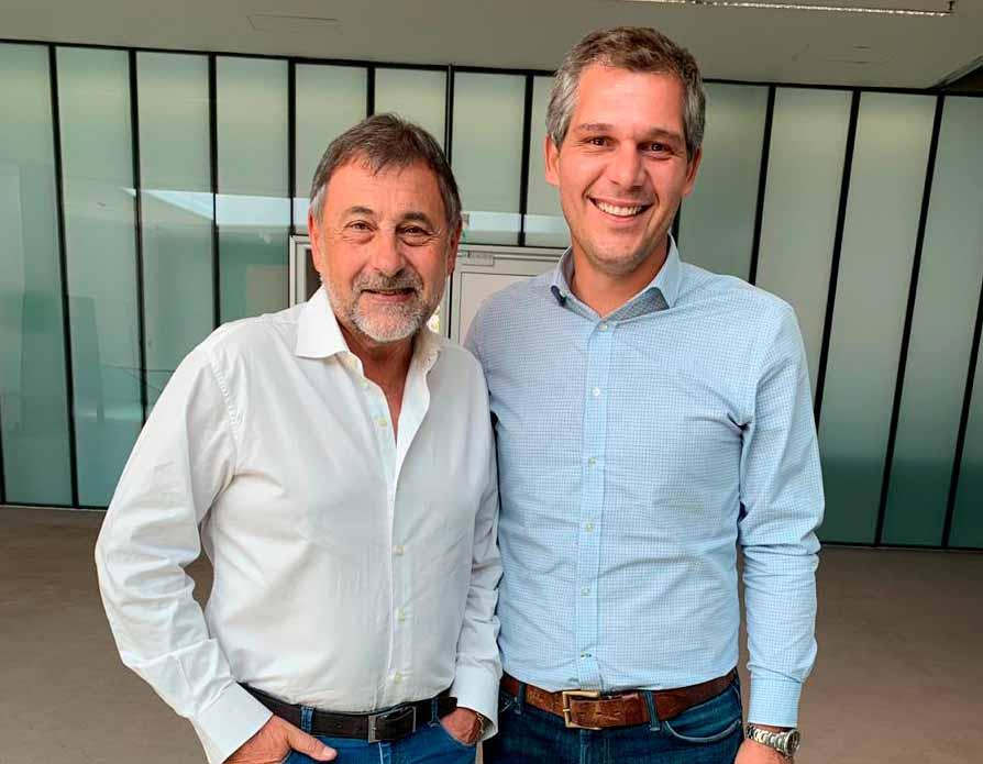 """Tomás Grunhaut: """"Esta candidatura es un gran orgullo y una enorme responsabilidad"""""""