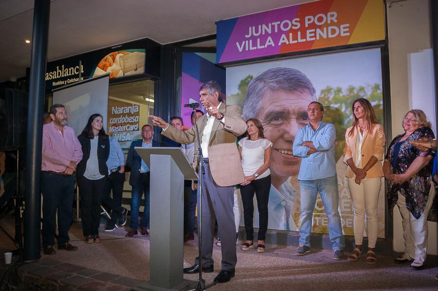 """Con """"Juntos Por Villa Allende"""", se lanzó el Gato Romero"""
