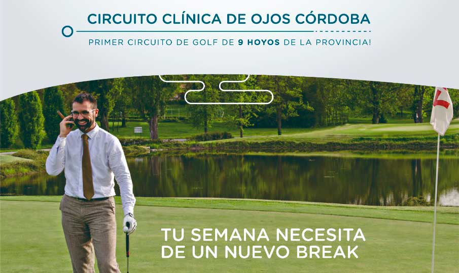 CIRCUITO DE GOLF CLÍNICA DE OJOS CÓRDOBA