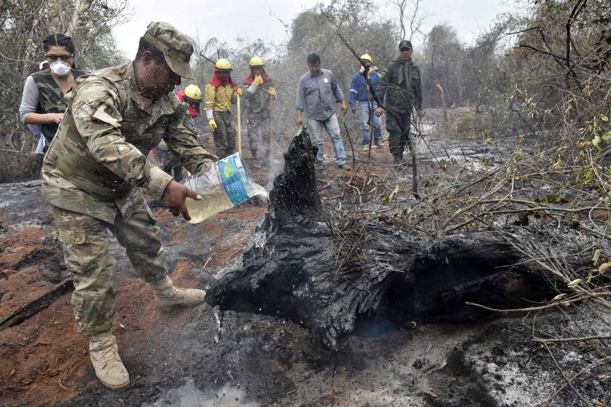 Inminente partida de bomberos cordobeses a Brasil