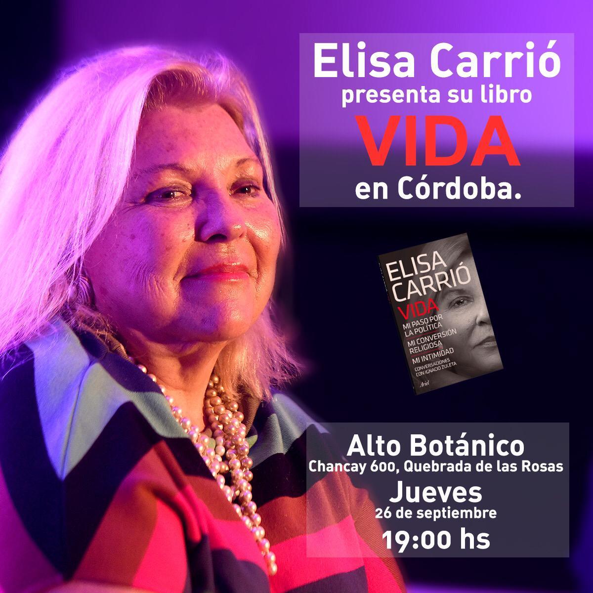 ELISA CARRIÓ EN CÓRDOBA