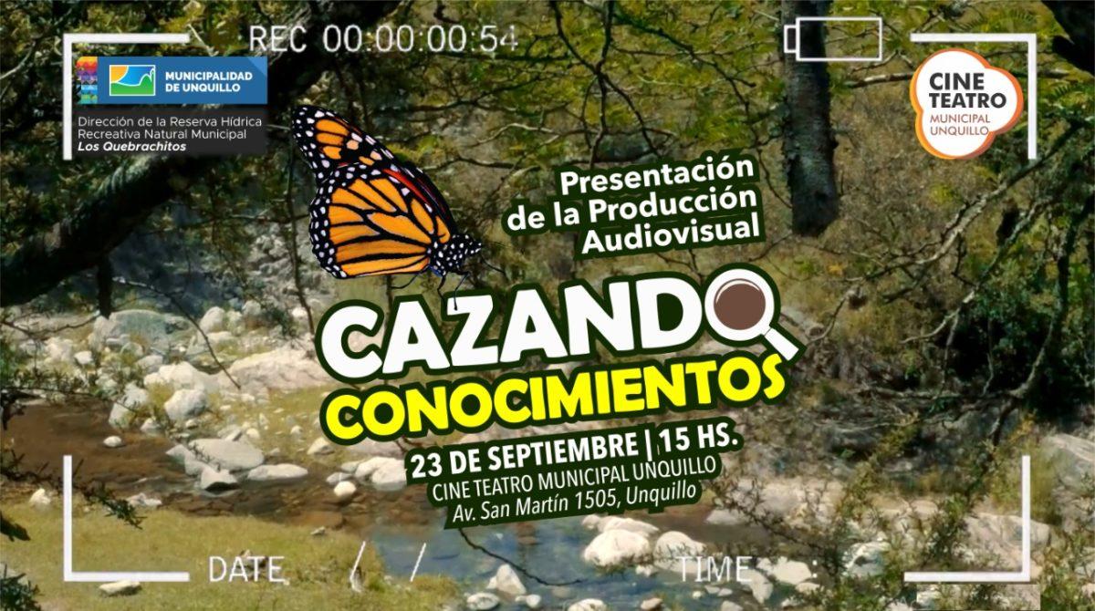 """Producción audiovisual """"Cazando Conocimientos""""."""