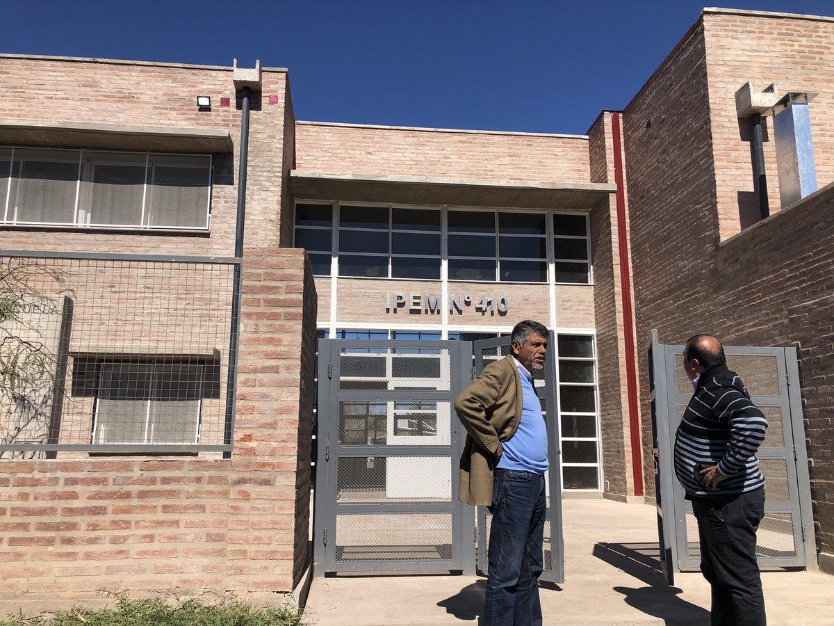 Frigerio inaugurará el nuevo edificio del IPEM 410 de Villa Allende