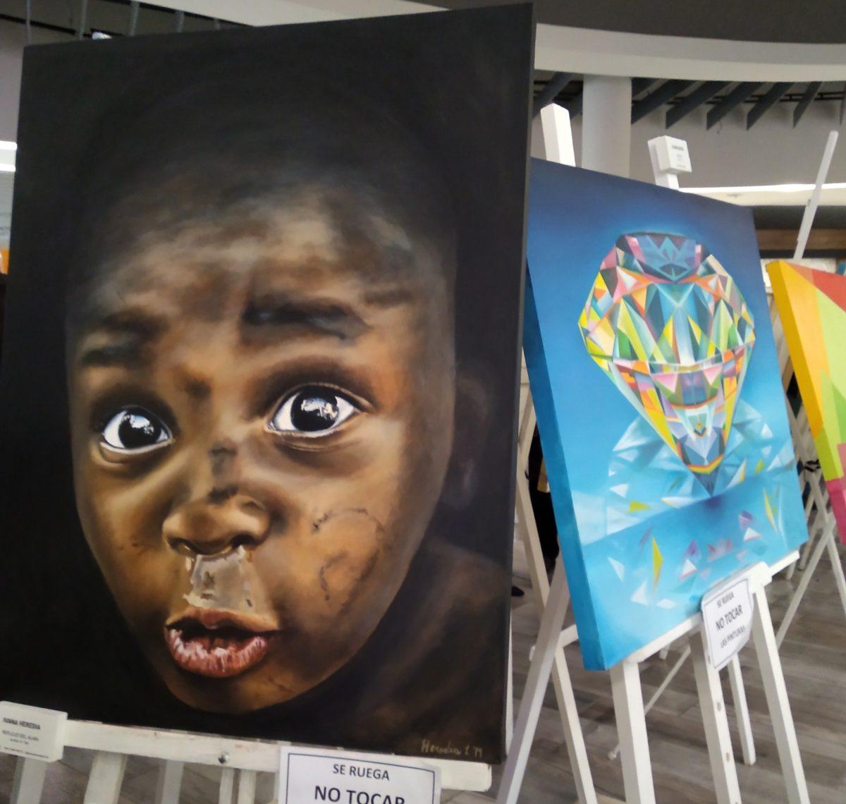 "Muestra de Pintura ""Imagen Reflejada"""