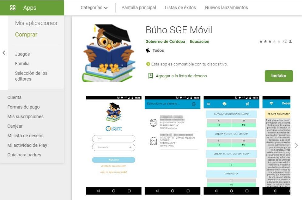 Diseñan App para que las familias consulten calificaciones de sus hijos e hijas