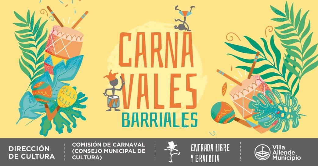 ¡SE VIENEN LOS CARNAVALES BARRIALES 2020!