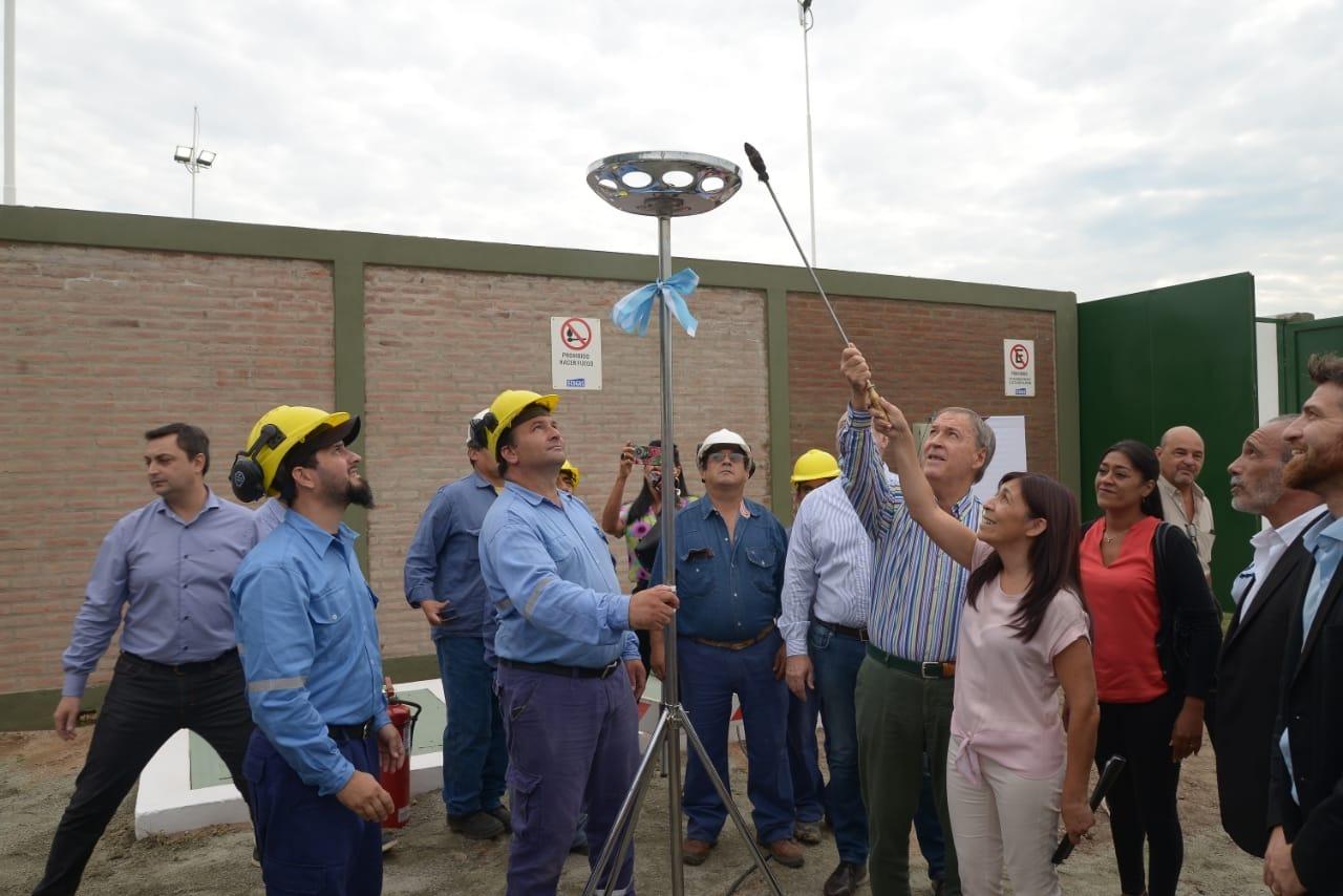 Gas natural y un parque industrial para la localidad de Mi Granja
