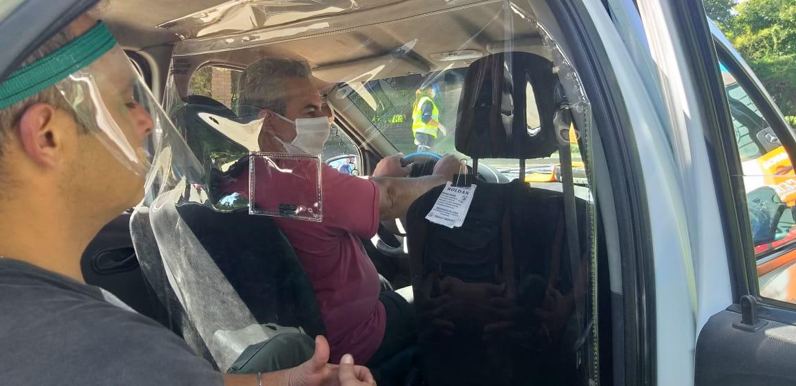Coronavirus: Mendiolaza se convierte en la primer ciudad de la provincia en contar con protección sanitaria en remises