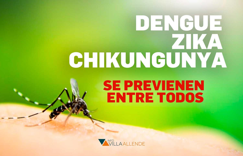 Preocupación y medidas contra el Dengue en Sierras Chicas