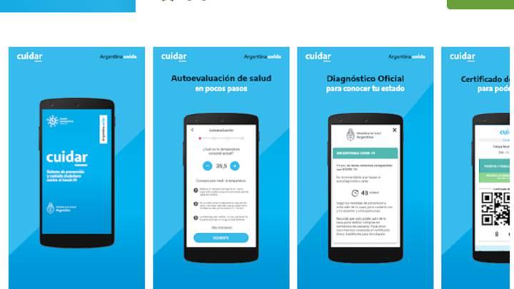 CuidAr, la app obligatoria de autocontrol para los trabajadores que vuelvan a la actividad