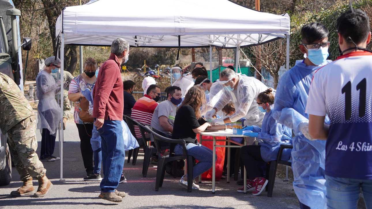 Covid-19: informe diario de la provincia -cinco nuevos casos en Villa Allende-