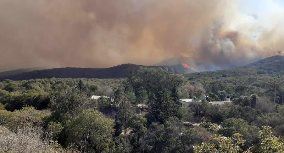 La Provincia articula acciones y relevamiento de daños a causa de los incendios