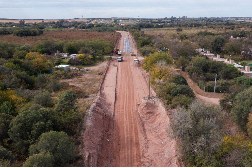 Unquillo: avanzan los trabajos de la nueva ruta S-441 (Avenida Sabattini)