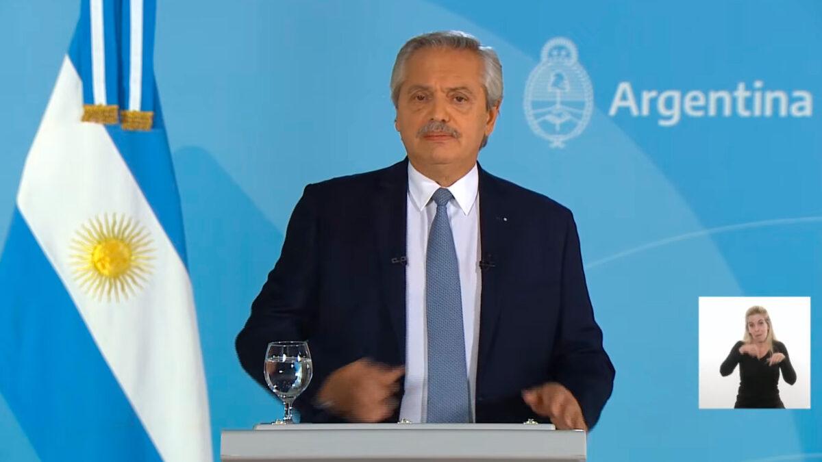 """Alberto Fernández: """"Estamos viviendo el peor momento de la pandemia"""""""