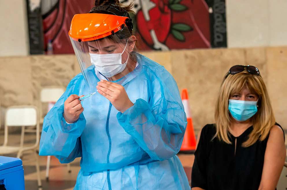 El miércoles se vacunaron 20.966 personas contra el Covid-19