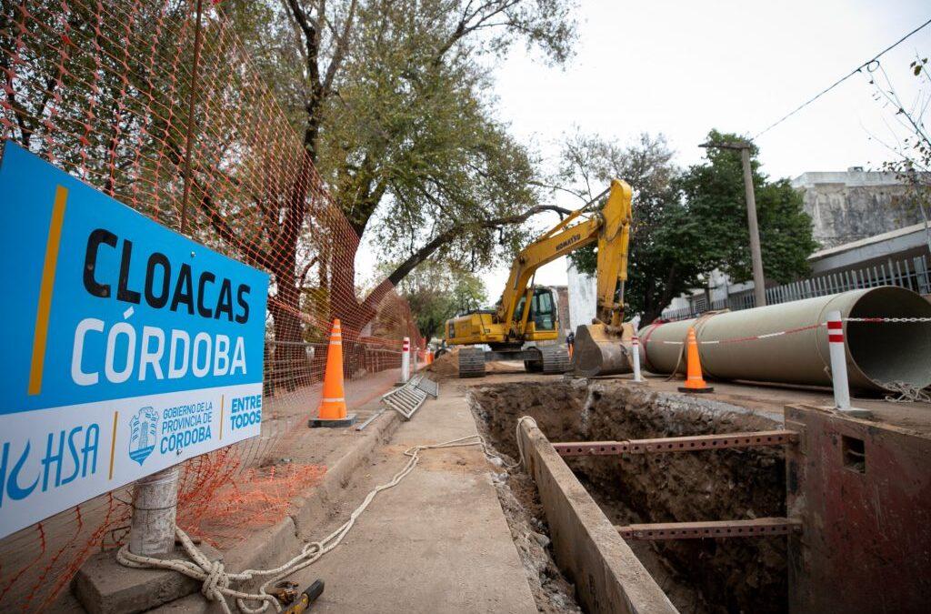 La Calera: la Provincia realizará obra cloacal para 12.000 vecinos