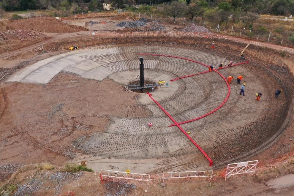 Se construye la planta de tratamiento de líquidos cloacales -Sierras Chicas-